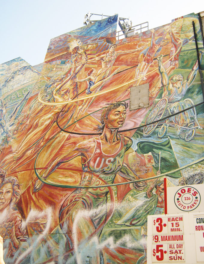 Olympic Games 1984, Mural, Downtown Los Angeles