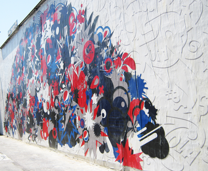 Pepsi Cola Mural, Merlose Avenue, Miracle Mile, Los Angeles