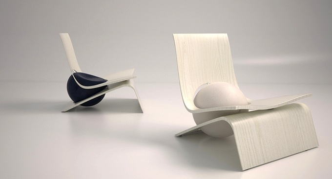 LoWnge design chair by Gradosei