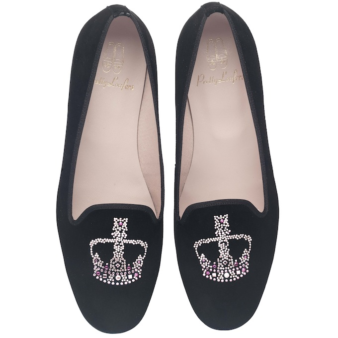 Faye_pink_and_fuchsia_Swarovski_crown_Pretty_Loafers
