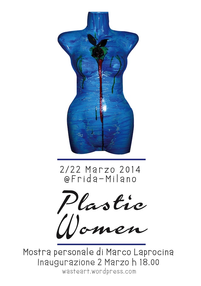 Locandina_Plastic_Woman_Waste_Art_Milano