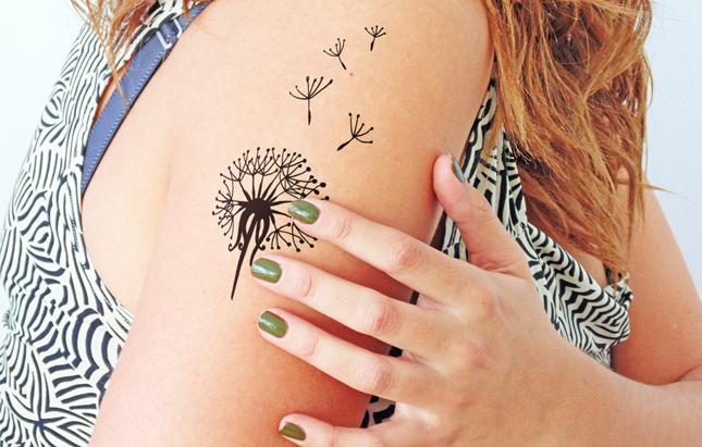 Temporary_tattoo_wish-dandelion_dawanda