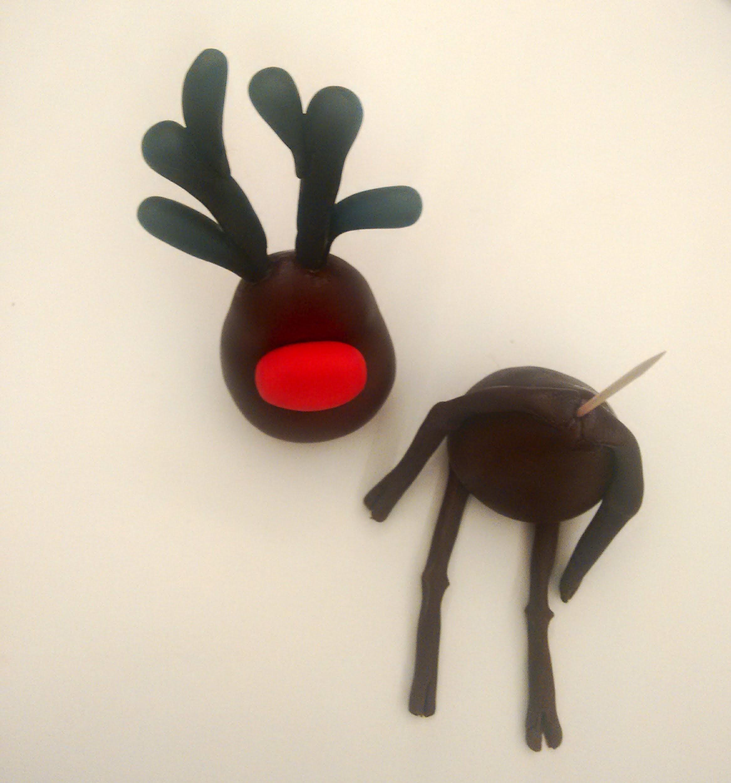 assemblaggio_renna_cake_design_natalizio