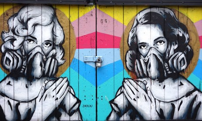 Zabou street art a Londra